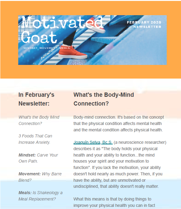 Newsletter Content creation, design, scheduling, and monitoring